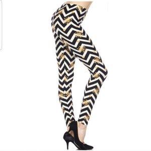 Pants - Chevron Snowflake Leggings